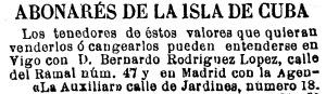 Publicado no Faro de Vigo o 2 de febreiro de 1883